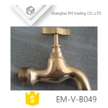 EM-V-B049 High quality polishing brass bibcock for Europe